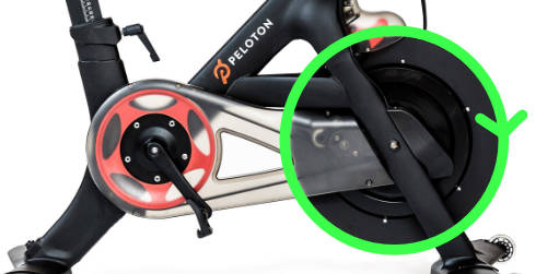 Flywheel RPMs are not directly used for calculating Peloton speed.