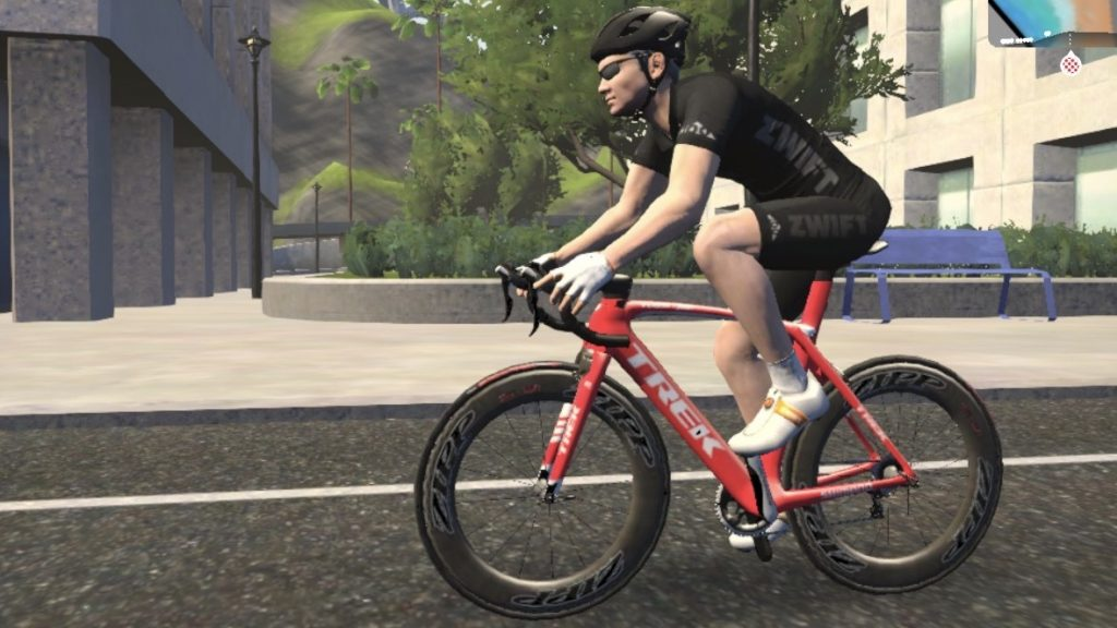 The coveted black Zwift jersey